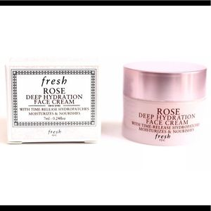 New FRESH rose hydration moisturizer cream travel
